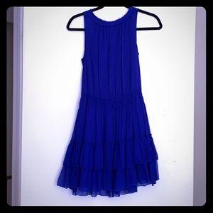 Royal Blue Breezy Dress